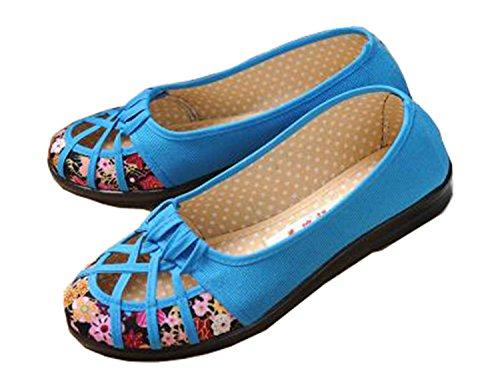 Plus Appartements Espadrilles Out Lanse Brand Respirant New De Size Hott Toile Creux Femmes Chaussures 41 sport 35 pE4w8
