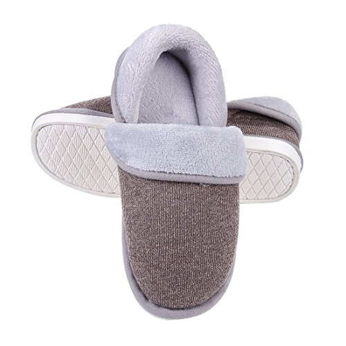 Winter Slipper Shoes Moccasin Slippers Fuzzy Indoor Soft Comfort Coffee Warm House Women's Slippers wUHCq1