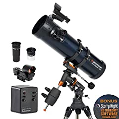 For amateur stargazers, getting adjusted to the complexity of most high-quality telescopes can be frustrating and lead quickly to a lack of interest. If you'd like to enjoy the outdoors and use a professionally-designed, dual-purpose t...