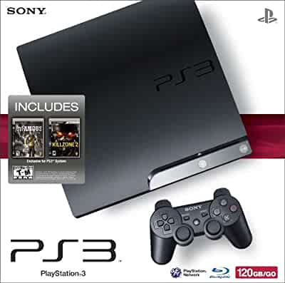 playstation 3 120gb system with killzone 2 and. Black Bedroom Furniture Sets. Home Design Ideas