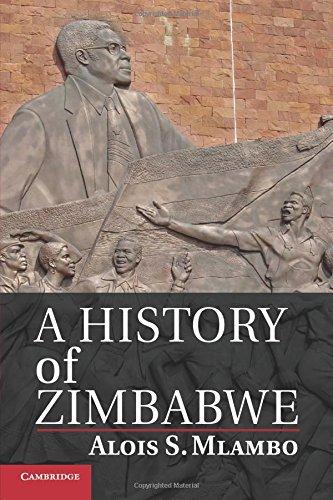 A History of Zimbabwe [Mlambo, Alois S.] (Tapa Blanda)