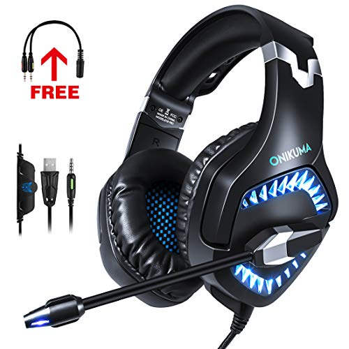 ONIKUMA Gaming Headset for PS4, Xbox One, ()