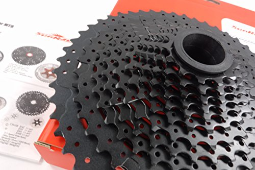 Sunrace 12-speed 11-50T cassette freewheel CSMZ90 WA5 wide ratio MTB in Black with RD extender by JGbike (Image #6)