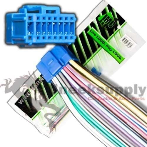 New 16 Pin AUTO STEREO WIRE HARNESS PLUG for PIONEER AVH-P6800DVD Player