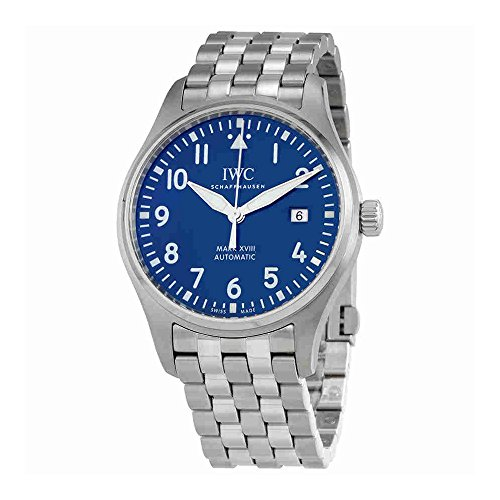 (IWC Le Petit Prince XVIII Automatic Blue Dial Mens Watch IW327014)
