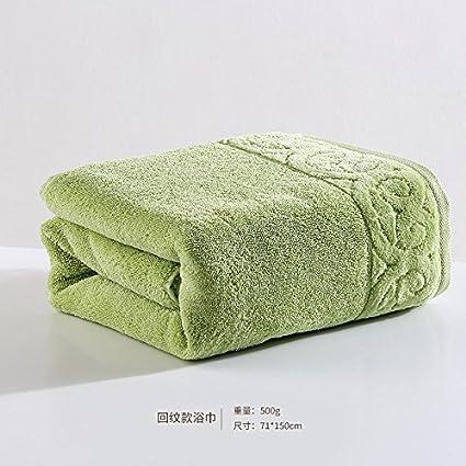 QUEENS Toalla de algodón absorbente grueso aumento de adultos suaves toallas grandes,F,Toalla