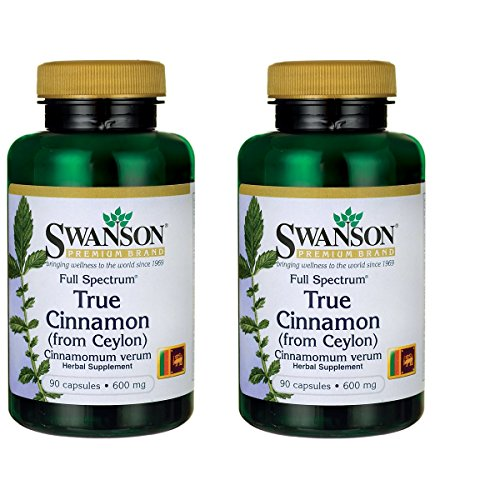 Swanson Full Spectrum Cinnamon Milligram
