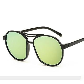 5b7c6405007 Gaojuan Women s Sunglasses Personalized Color Film Sunglasses Sun Glasses  Fashion Designer Mirrored Aviator Sunglasses Reflective For