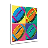 ''Ball Four Soccer'' By Wild Apple Portfolio, Fine Art Giclee Print on Gallery Wrap Canvas, Ready to Hang