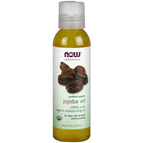 Amazon.com: Ahora aceite de jojoba orgánico, 4-Ounce: Beauty