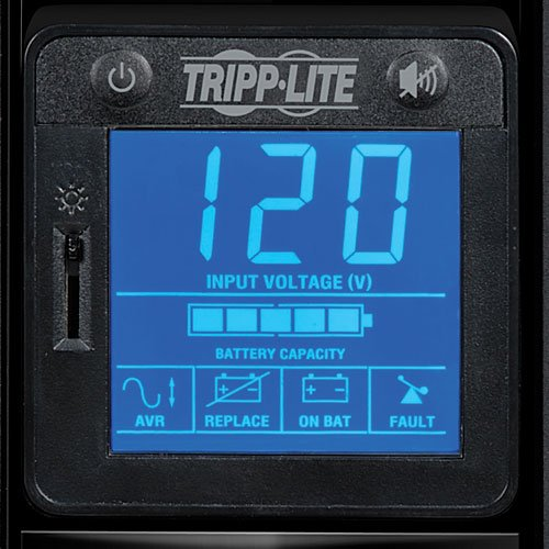 Tripp Lite 700VA UPS Battery Back Up, 420W, Tower, LCD, AVR, USB (OMNI700LCD) by Tripp Lite (Image #3)