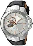 Best Seiko Watches automatic watch - Seiko Men's SSA313 Analog Display Japanese Automatic Black Review