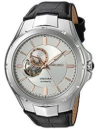 Seiko Men's SSA313 Analog Display Japanese Automatic Black Watch