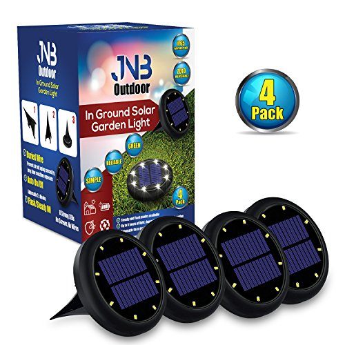 JNB Outdoor Solar Garden or Pathway Accent Light