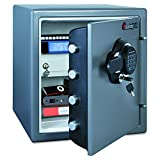 SentrySafe SFW123GDC 1.23 Cubic Feet Extra Large Digital Electronic Fire-Safe, Gun Metal Grey