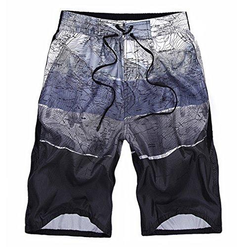 ベッド競争力のある退屈なSemiAugust(セミオーガスト)メンズ サーフパンツ 海水パンツ 水着 オシャレ 吸汗速乾 水陸両用 フィットネス ショーツ 短パン 旅行 海水浴