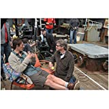 Haven Eric Balfour as Duke Crocker Lounging in Chair with Film Crew Off Camera Shot 8 x 10 inch photo