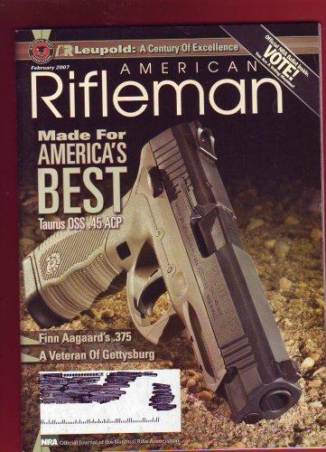 American Rifleman: Made for America's Best: Taurus OSS.45 ACP (February 2007) PDF