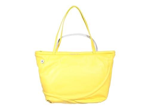 Mandarina Duck - Monedero de cuero mujer, color amarillo ...