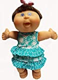 Doll Clothes Super store Green Ruffle Dress Fits New Born And Preemie Cabbage Patch Kid Dolls