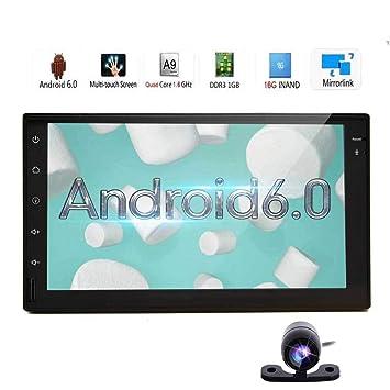 Eincar Android 6.0 estéreo del coche reproductor de vídeo de 7 pulgadas de doble DIN en