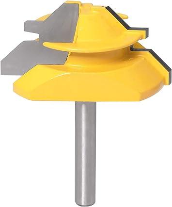 Lock Miter Router Bit Diameter Shank Wood Cutter For Wood Working Drilling LP