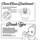 TAO Clean Aura Clean Orbital Facial Cleansing Brush & Cleaning Station, Super Nova White