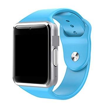Hihey Smartwatch Bluetooth Smart Watch Rosa Multi Idiomas con ...