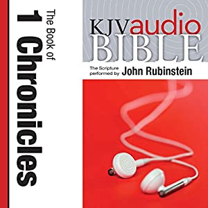 King James Version Audio Bible: The Book of 1 Chronicles Audiobook