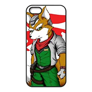 iPhone 5 5s Cell Phone Case Black Super Smash Bros Fox McCloud JNR2058795