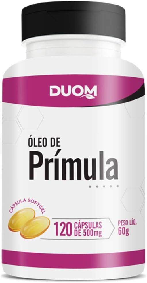Óleo de Prímula 120cps 500mg Duom por Duom