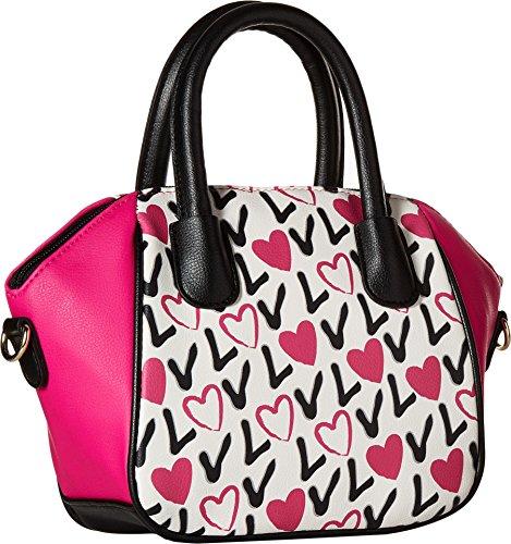 Luv Quinn az Satchel Love Pink Mini Size Womens Betsey PVC AEqwAzr
