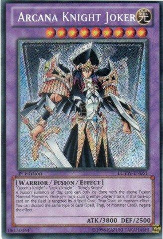 Yu-Gi-Oh! - Arcana Knight Joker (LCYW-EN051) - Legendary Collection 3: Yugi's World - 1st Edition - Secret Rare by Yu-Gi-Oh!