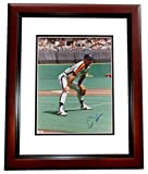 Autographed Art Howe Photo - 8x10 MAHOGANY CUSTOM FRAME - PSA/DNA Certified - Autographed MLB Photos