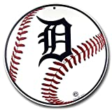 Detroit Tigers Tin Sign 12 x 12in