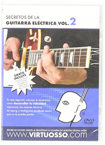 Virtuosso Electric Guitar Method Vol.2 (Curso De Guitarra Eléctrica Vol.2) SPANISH ONLY by Virtuosso