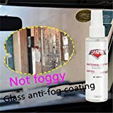 Drivworld Anti Fog Spray Anti-Fog Agent Rainy Winter car Long-Term Anti-Fog Window Windshield defogger Bathroom to Fog Agent