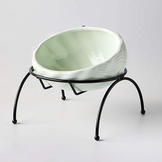 MeiHao Comedero para Mascotas Ceramic Cat Dog Bowl Platos Cuencos ...