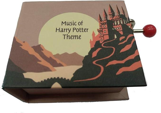 Protocol Caja de Musica con Libro manivela y melodia Harry Potter Theme 2: Amazon.es: Juguetes y juegos