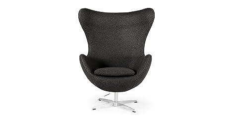 Prime Kardiel Amoeba Chair Charcoal Tweed Cashmere Wool Creativecarmelina Interior Chair Design Creativecarmelinacom