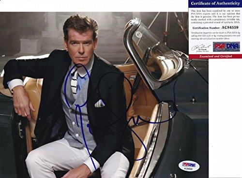 - Pierce Brosnan 007 James Bond Signed Autograph 8x10 Photo PSA/DNA COA #1