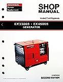 Honda EX3300 EX4500 Generator Service Repair Shop Manual