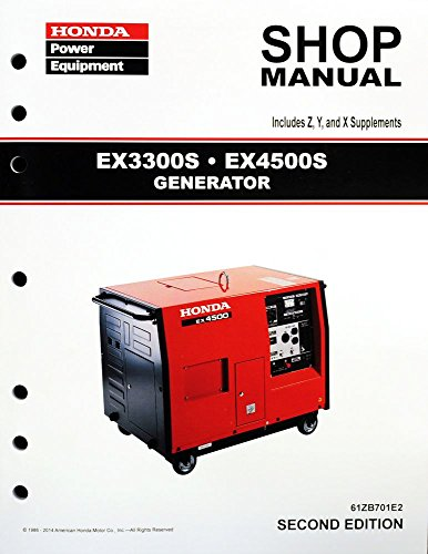 honda   generator service repair shop manual ebay