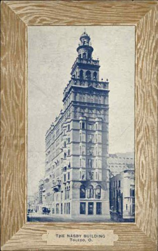 - The Nasby Building Toledo, Ohio Original Vintage Postcard