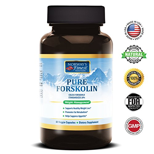 Norway's Finest Forskolin 250mg for Weight Loss  Fat Burne
