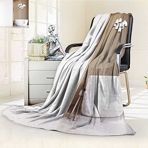 (Luminous Microfiber Throw Blanket bathroom interior with a tub a chair with body care products a light wooden wal Glow In The Dark Constellation Blanket, Soft And Durable Polyester(60