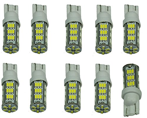 Cutequeen-LED-Car-Lights-Bulb-10PCS-White-T15-42-SMD-42smd-906-579-901-904-908-909-912-914-915-916-917-918-920-921-922-923-926-927-928-939-pack-of-10