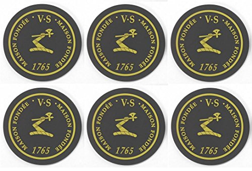 Hennessy Cognac VS Bar Coasters Spill Mats set of 6