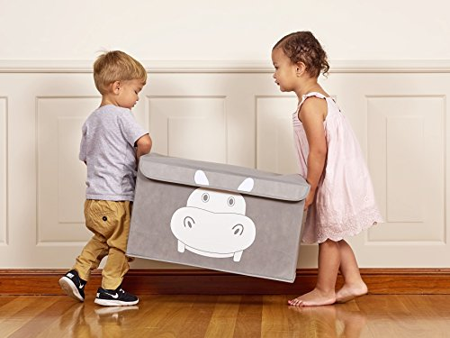 Cute Animal Collapsible Toy Storage Organizer Folding: Katabird Storage Bin For Toy Storage