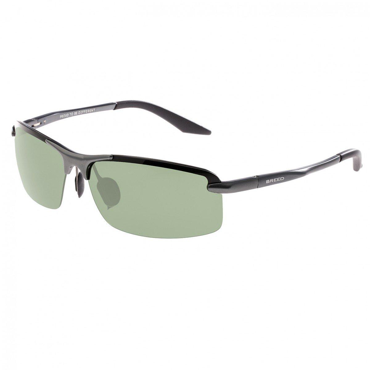 7de79eac82 Amazon.com  Breed Lynx Aluminium Sunglasses - Black Silver  Shoes